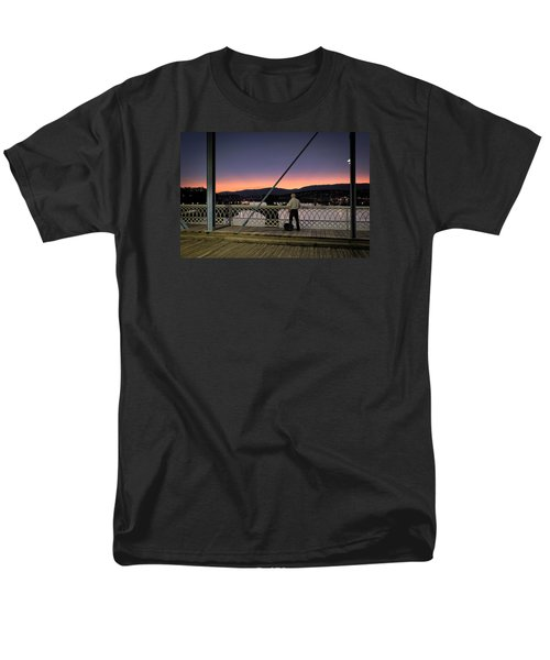 Photographing The Sunset Men's T-Shirt  (Regular Fit)