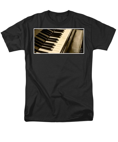 Piano Men's T-Shirt  (Regular Fit) by Charuhas Images