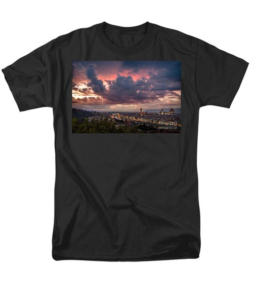 Piazzale Michelangelo Men's T-Shirt  (Regular Fit) by Giuseppe Torre