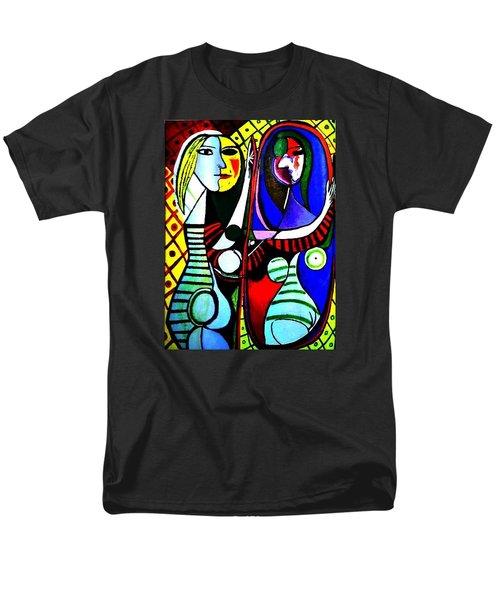Picasso - El Espejo Original Men's T-Shirt  (Regular Fit)