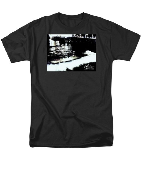 Men's T-Shirt  (Regular Fit) featuring the photograph Pier by Vanessa Palomino