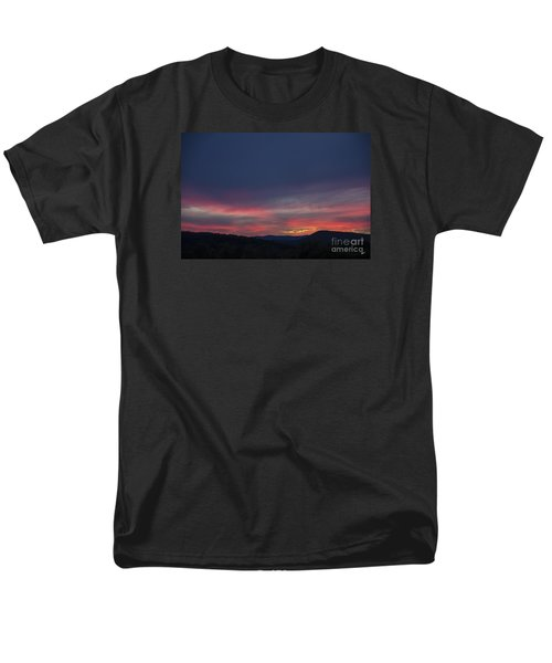 Men's T-Shirt  (Regular Fit) featuring the photograph Pink Clouds by Alana Ranney