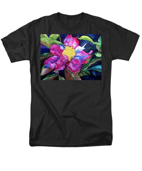Pink Drama Men's T-Shirt  (Regular Fit) by Lil Taylor