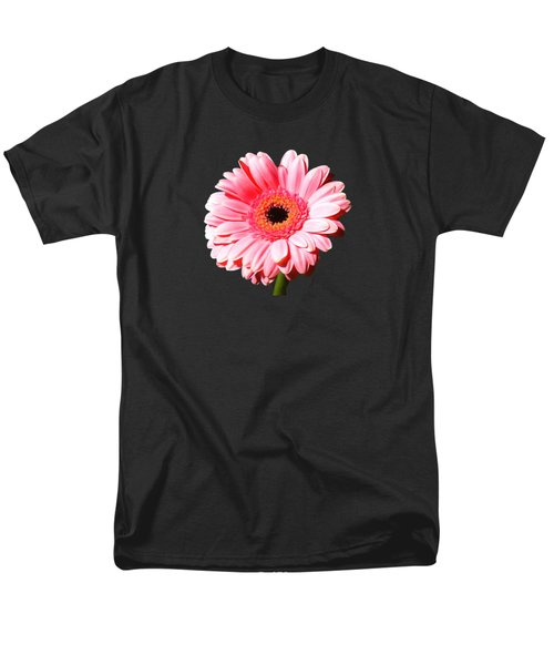 Pink Gerbera Men's T-Shirt  (Regular Fit) by Scott Carruthers