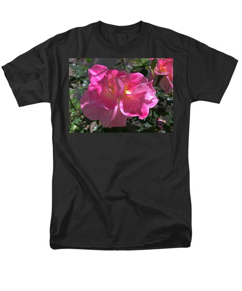 Men's T-Shirt  (Regular Fit) featuring the photograph Pink Passion by Daniel Hebard