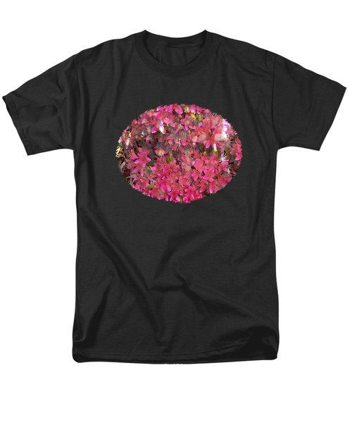 Pink Rhododendron Men's T-Shirt  (Regular Fit) by Thom Zehrfeld