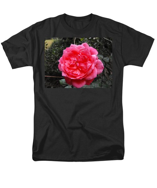 Pink Rose Men's T-Shirt  (Regular Fit) by Adam Cornelison