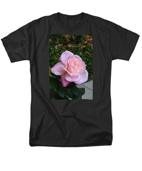 Men's T-Shirt  (Regular Fit) featuring the photograph Pink Rose by Carla Parris