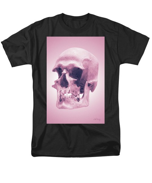 Men's T-Shirt  (Regular Fit) featuring the photograph Pink Textures by Joseph Westrupp