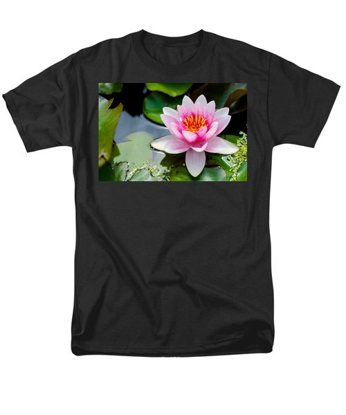 Pink Waterlily Men's T-Shirt  (Regular Fit) by Daniel Precht