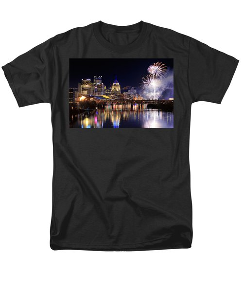 Pittsburgh 1  Men's T-Shirt  (Regular Fit) by Emmanuel Panagiotakis