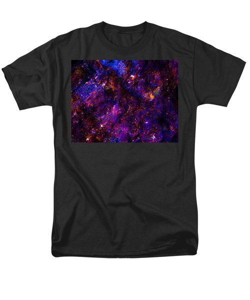 Planetary Sky Men's T-Shirt  (Regular Fit) by Bruce Pritchett