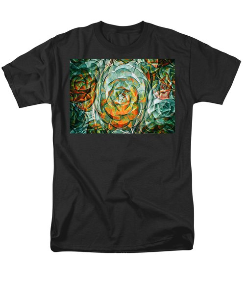 Men's T-Shirt  (Regular Fit) featuring the photograph Plant Abstract by Wayne Sherriff