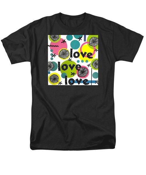 Playful Love Men's T-Shirt  (Regular Fit) by Gloria Rothrock