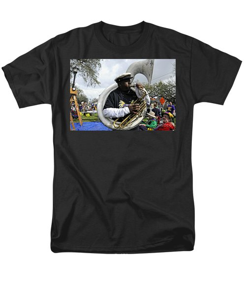 Playing To The Crowd Men's T-Shirt  (Regular Fit) by Kathleen K Parker