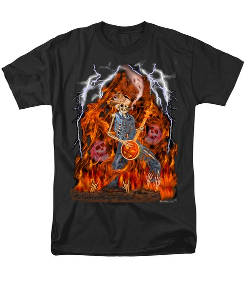 Playing With Fire Men's T-Shirt  (Regular Fit) by Glenn Holbrook