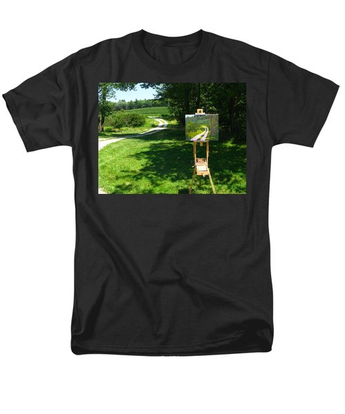 Plein Air Painter's Studio Men's T-Shirt  (Regular Fit)