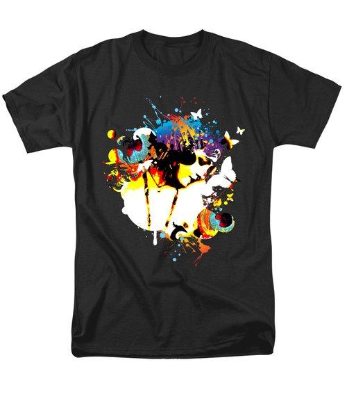 Poetic Peacock Men's T-Shirt  (Regular Fit)