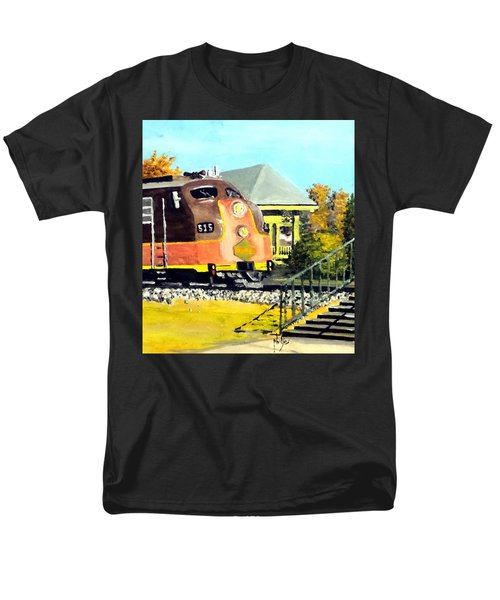 Polar Express Men's T-Shirt  (Regular Fit) by Jim Phillips