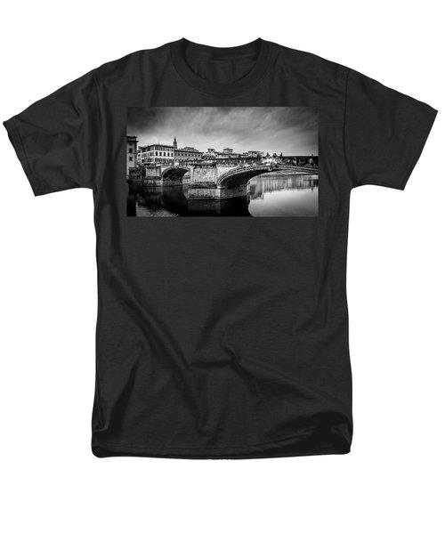 Ponte Santa Trinita Men's T-Shirt  (Regular Fit) by Sonny Marcyan