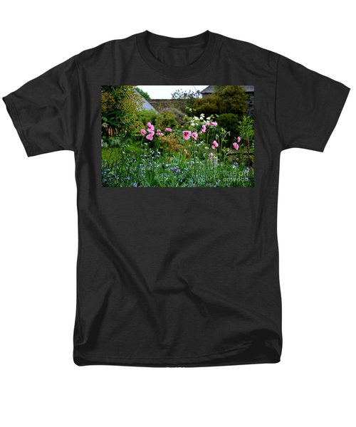 Men's T-Shirt  (Regular Fit) featuring the photograph Poppies Of The Great Dixter by Tanya Searcy