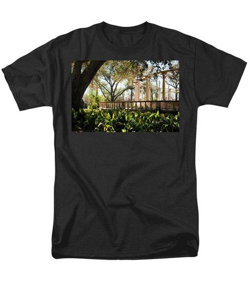 Popp's Fountain Men's T-Shirt  (Regular Fit) by Kathleen K Parker