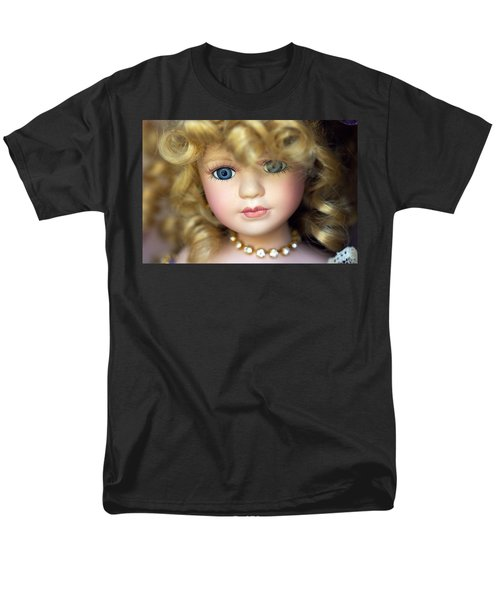 Porcelain Doll Men's T-Shirt  (Regular Fit) by Joseph Skompski