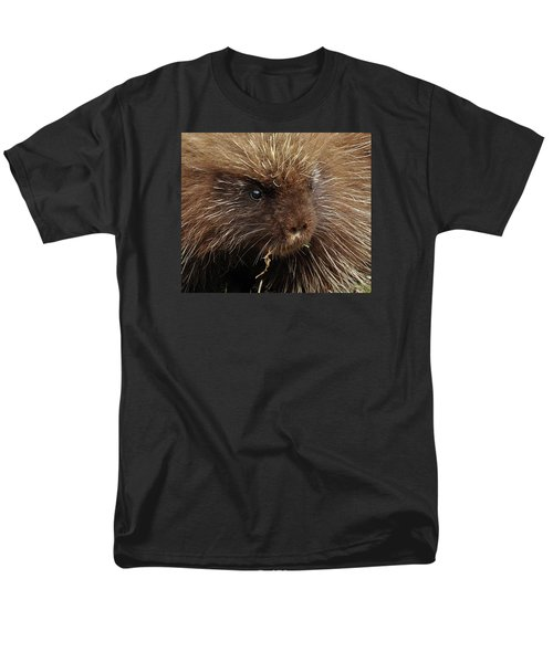 Men's T-Shirt  (Regular Fit) featuring the photograph Porcupine by Glenn Gordon