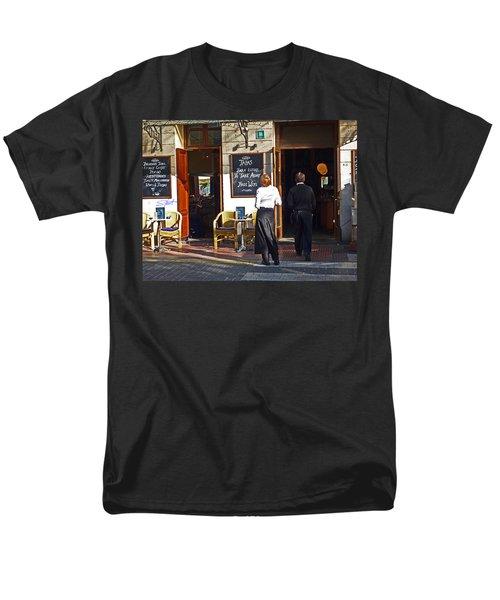 Port De Soller Men's T-Shirt  (Regular Fit) by Charles Stuart