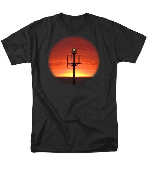 Port Hughes Lookout Men's T-Shirt  (Regular Fit) by Linda Hollis