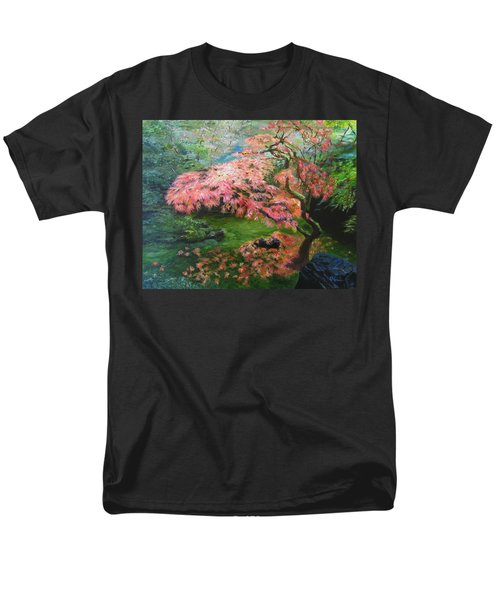 Portland Japanese Maple Men's T-Shirt  (Regular Fit) by LaVonne Hand
