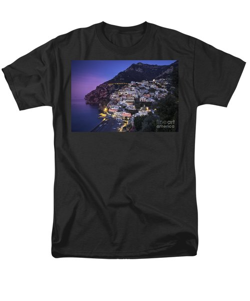 Positano Twilight Men's T-Shirt  (Regular Fit) by Brian Jannsen
