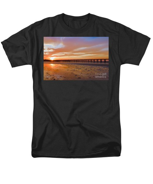 Powder Point Bridge Duxbury Men's T-Shirt  (Regular Fit) by Amazing Jules