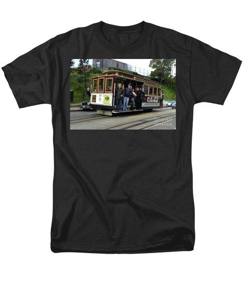 Powell And Market Street Trolley Men's T-Shirt  (Regular Fit) by Steven Spak