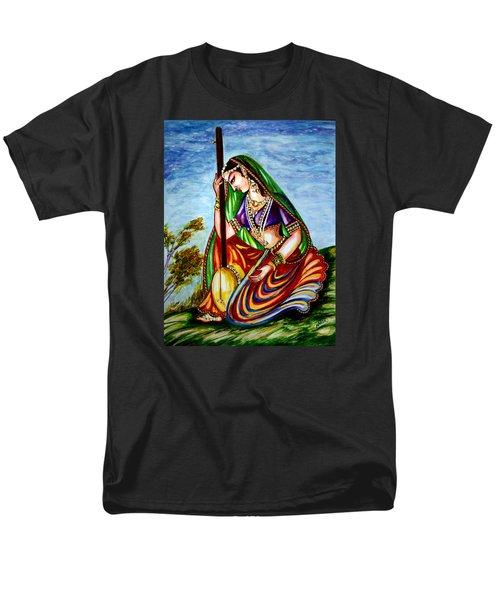 Krishna - Prayer Men's T-Shirt  (Regular Fit) by Harsh Malik