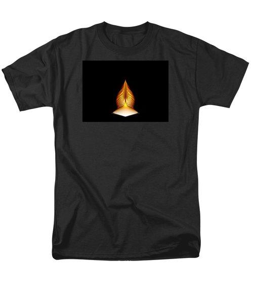 Men's T-Shirt  (Regular Fit) featuring the digital art Prayer Shrine 1 by Richard Ortolano