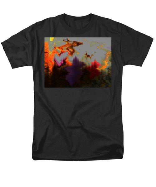 Prehistoric Men's T-Shirt  (Regular Fit) by Lenore Senior