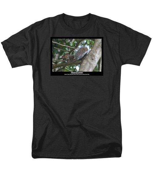 Men's T-Shirt  (Regular Fit) featuring the photograph Preparation by Robert Banach