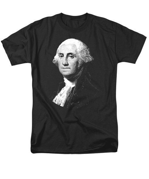 President George Washington Graphic  Men's T-Shirt  (Regular Fit) by War Is Hell Store