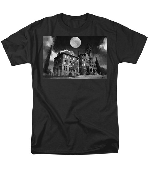 Men's T-Shirt  (Regular Fit) featuring the digital art Preston Castle by Holly Ethan