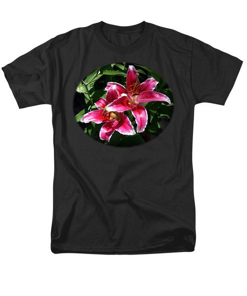 Men's T-Shirt  (Regular Fit) featuring the photograph Pretty Lilies by Nick Kloepping