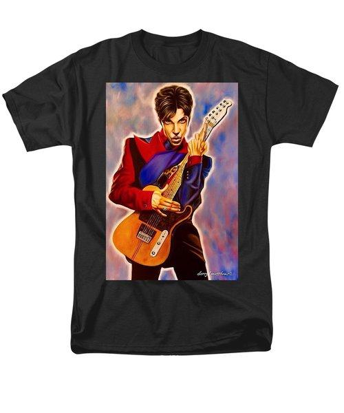Prince Men's T-Shirt  (Regular Fit) by Darryl Matthews