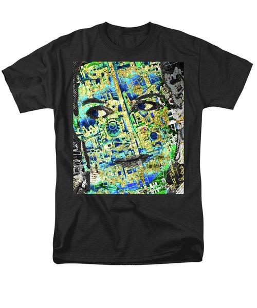 Men's T-Shirt  (Regular Fit) featuring the mixed media Princess by Tony Rubino