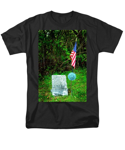 Men's T-Shirt  (Regular Fit) featuring the photograph Princess White Feather by Paul W Faust - Impressions of Light