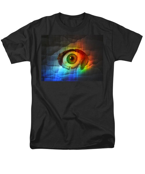Men's T-Shirt  (Regular Fit) featuring the photograph Prismaeye by Douglas Fromm