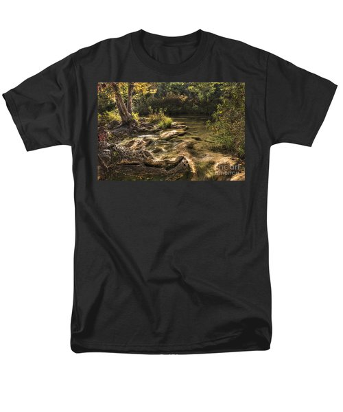 Men's T-Shirt  (Regular Fit) featuring the photograph Private Retreat by Tamyra Ayles