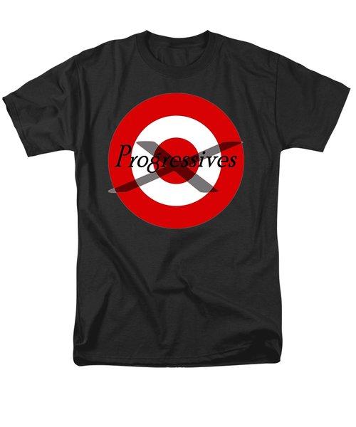 Progressives Men's T-Shirt  (Regular Fit) by  Newwwman