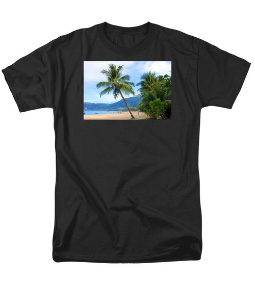 Phuket Patong Beach Men's T-Shirt  (Regular Fit) by Mark Ashkenazi