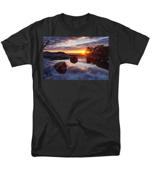 Puddle Paradise Men's T-Shirt  (Regular Fit) by Craig Szymanski