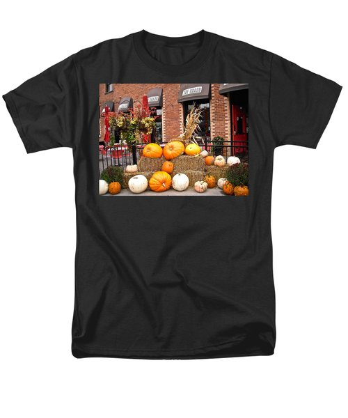 Pumpkin Display Men's T-Shirt  (Regular Fit) by Stephanie Moore